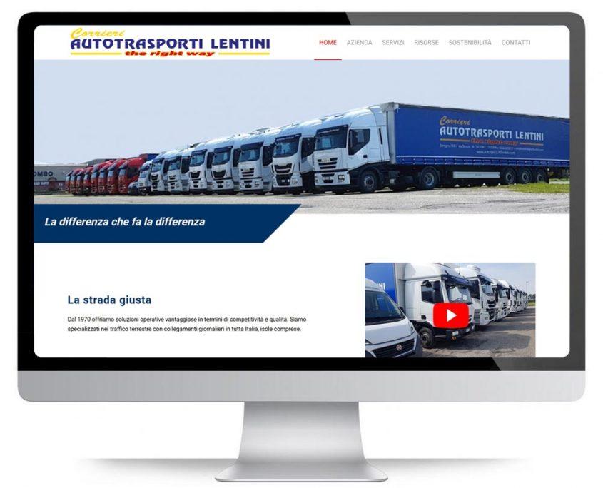 Autotrasporti Lentini nuovo sito